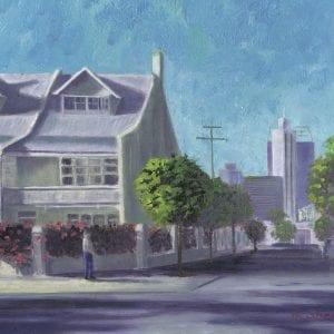Mr Good Day's House Painting - Australia Plein Air Paintings
